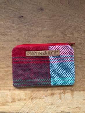 Coin Purse - Red and Green
