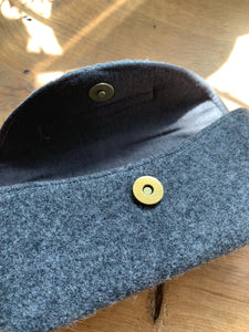 Sunglass Case - Light and Dark Grey