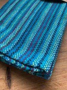 Handwoven Towel - Teal