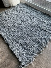 "Load image into Gallery viewer, Wool and Cotton Handwoven Rug - 24""x27"""