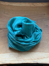 Load image into Gallery viewer, Handwoven Towel - Teal