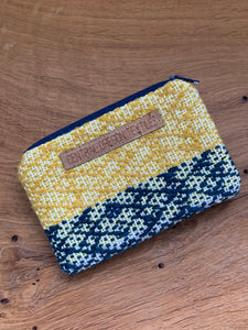 Coin Bag - Yellow and Blue