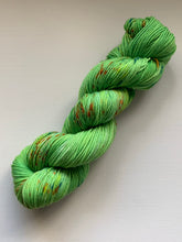 Load image into Gallery viewer, green handdyed yarn