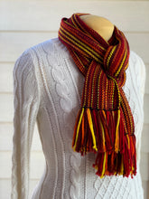 Load image into Gallery viewer, Scarf - Wool & Bamboo - Fall Leaves