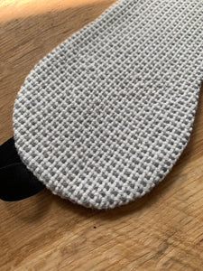 Eye Cover - Grey/White with Black Band