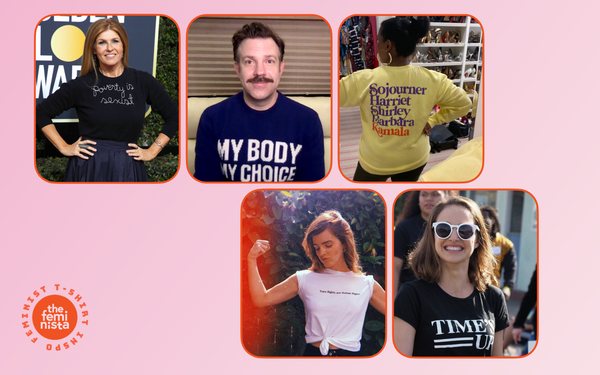 Style Inspiration 2: Celebrities in Feminist T Shirts