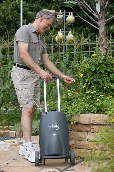 New Sequal Eclipse 5 Portable Oxygen Concentrator