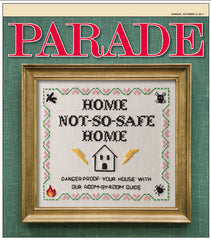 Cover design for Parade magazine, national