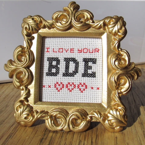 Ornate Frame Kit: I Love Your BDE