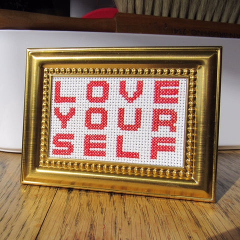 Gold Frame Kit: Love Your Self