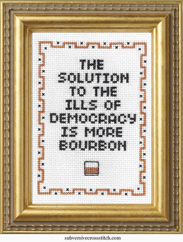 The Solution To The Ills of Democracy Is More Bourbon