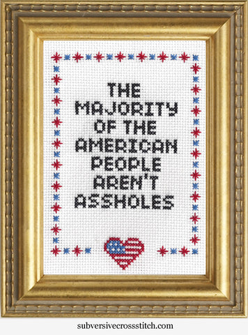 The Majority of The American People Aren't Assholes