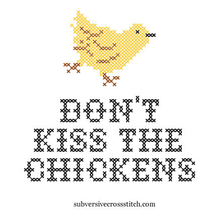 PDF: Don't Kiss The Chickens