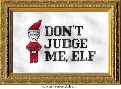 PDF: Don't Judge Me, Elf