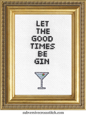 PDF: Let The Good Times Be Gin