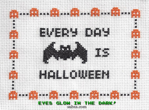 Every Day Is Halloween: Glowing-Eyed Bat