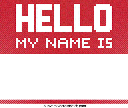 PDF: Hello My Name Is