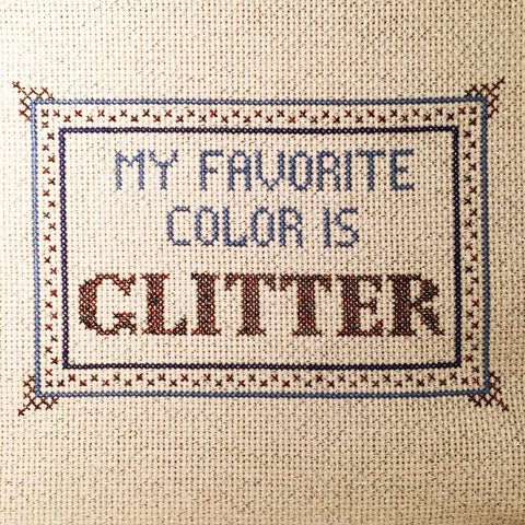 PDF: Glitter Is My Favorite Color