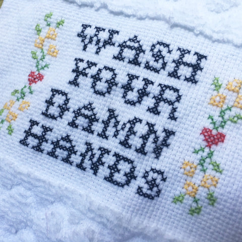 PDF: Wash Your Damn Hands