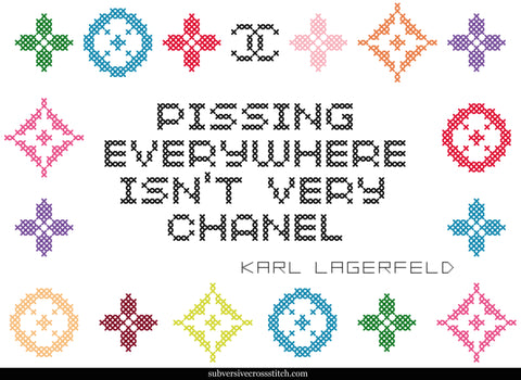 PDF: Karl Lagerfeld: Pissing Everywhere Isn't Very Chanel