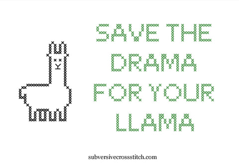 PDF: Save The Drama For Your Llama