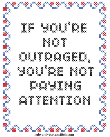 PDF: If You're Not Outraged, You're Not Paying Attention