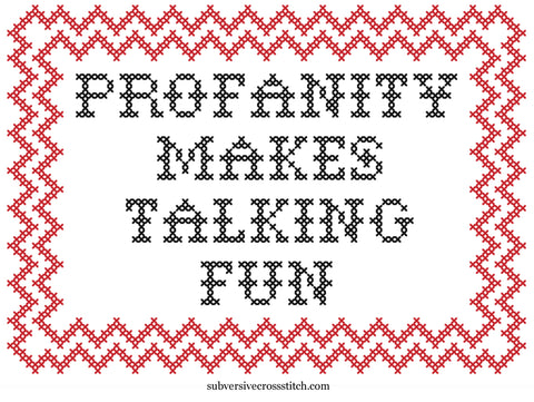 PDF: Profanity Makes Talking Fun