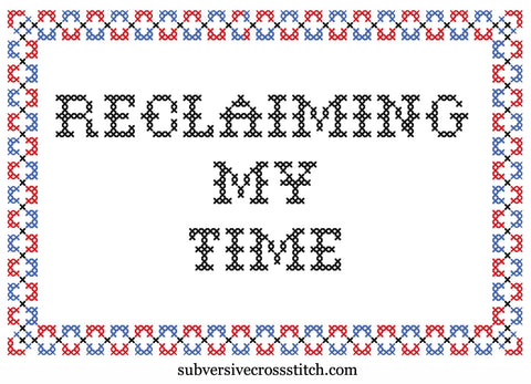 PDF: Reclaiming My Time