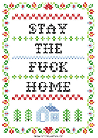 Free PDF: Stay The Fuck Home