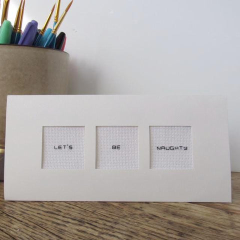Three-Pane Greeting Card Kit