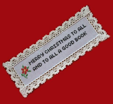 Bookmark Kit: Merry Christmas To All And To All A Good Book