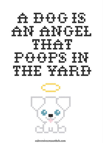 PDF: A Dog Is An Angel That Poops In The Yard