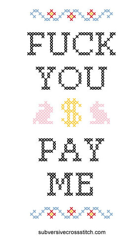 PDF: Fuck You Pay Me