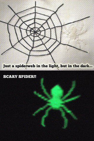 PDF: Halloween Spider Web Spookiness