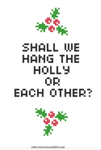 PDF: Shall We Hang The Holly Or Each Other?