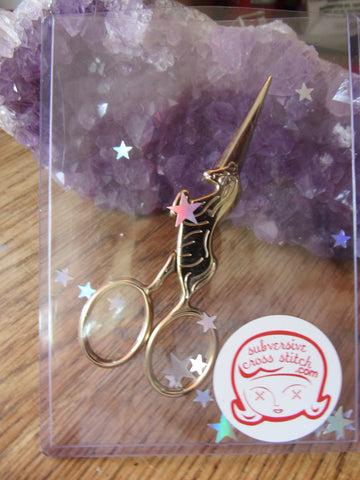 Magical Unicorn Embroidery Scissors