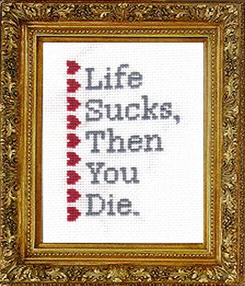 PDF: Life Sucks, Then You Die