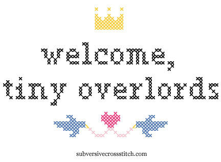 PDF: Welcome Tiny OverlordS - for twins!