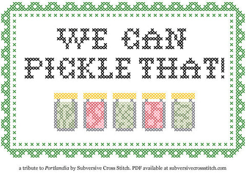 PDF: We Can Pickle That!