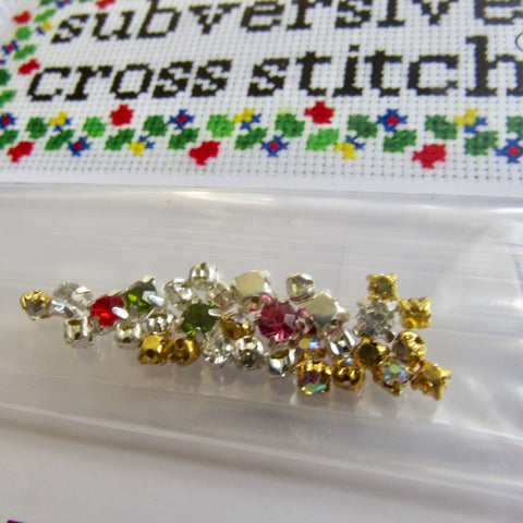 Pack of Tiny Sew-On Rhinestones