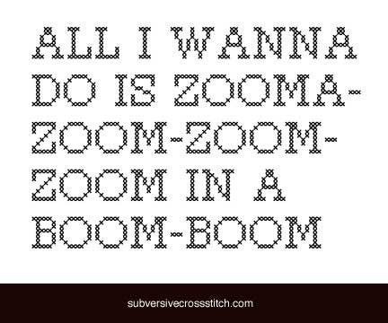 PDF: All I Wanna Do Is Zooma-Zoom-Zoom-Zoom...