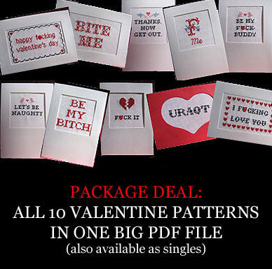 PDF: Valentine series: ALL TEN designs for ...