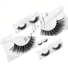 Load image into Gallery viewer, Natural 3D Mink Lashes Bundle Of 4