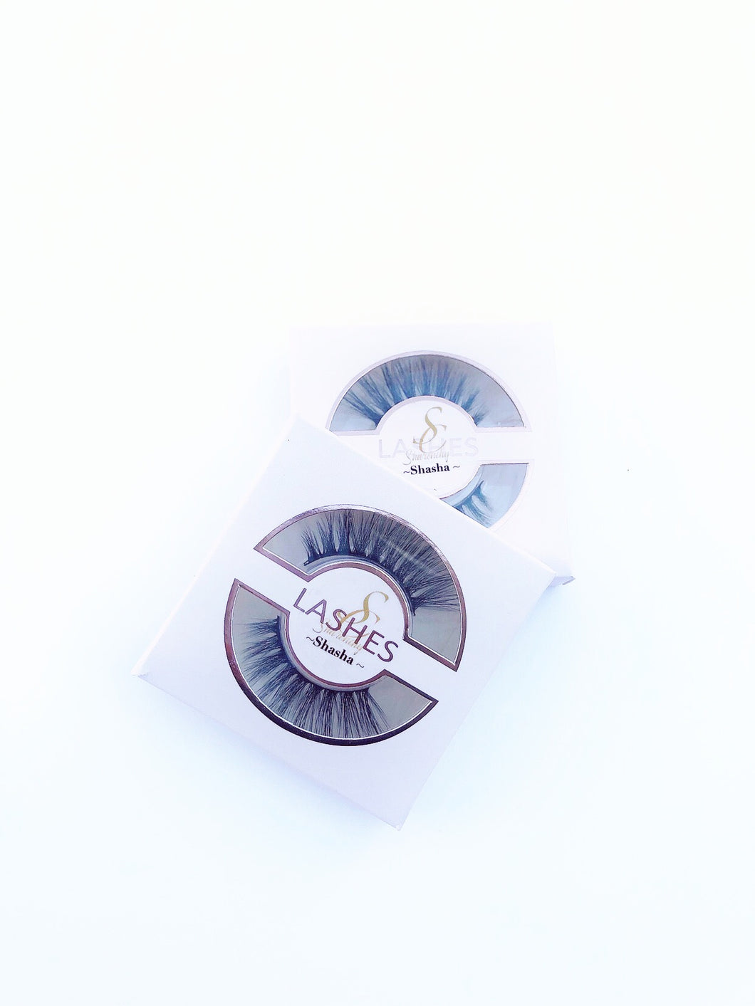 SHASHA Eyelashes Natural Long 3D Mink