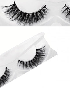 Natural Long 3D Mink Eyelashes