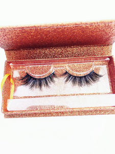 LUSCIOUS Eyelashes Natural Long 3D Mink Lashes