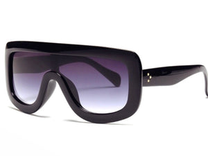 Fashion Oversized Black Sunglasses