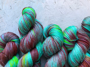 Malachite  - Merino Silk - 4ply