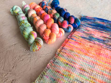 Load image into Gallery viewer, Mini sock yarn 'Equinox' sock kits 4ply