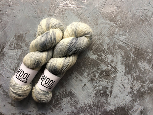 Make mine grey - BFL Bamboo - 4ply
